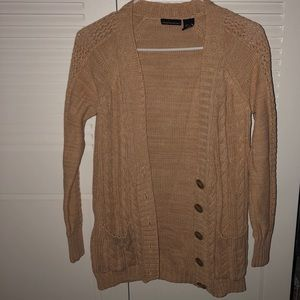 Moda International - Tan cardigan